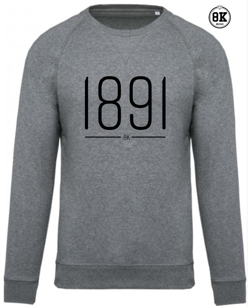 Zwarte Trui Met Goud.1891 Sweater 8k Brugge